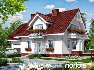 projekt Dom w rododendronach 6 lustrzane odbicie 1
