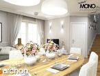 projekt Dom w rododendronach 6 Strefa dzienna (wizualizacja 2 widok 4)