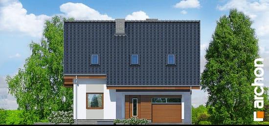 Elewacja frontowa projekt dom w pieknotkach  264