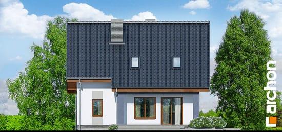 Elewacja ogrodowa projekt dom w pieknotkach  267