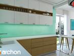 projekt Dom w pięknotkach Aranżacja kuchni 1 widok 3