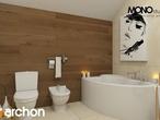 projekt Dom w pięknotkach Wizualizacja łazienki (wizualizacja 1 widok 1)