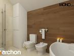 projekt Dom w pięknotkach Wizualizacja łazienki (wizualizacja 1 widok 3)