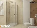 projekt Dom w pięknotkach Wizualizacja łazienki (wizualizacja 1 widok 4)