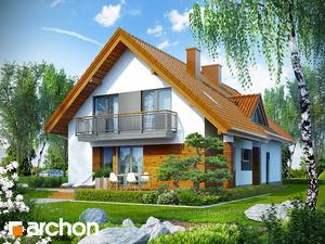 projekt Dom w goldenach widok 2
