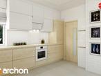projekt Dom w jabłonkach Aranżacja kuchni 1 widok 2