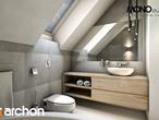projekt Dom w jabłonkach Wizualizacja łazienki (wizualizacja 1 widok 3)