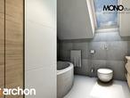 projekt Dom w jabłonkach Wizualizacja łazienki (wizualizacja 1 widok 4)