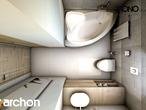 projekt Dom w jabłonkach Wizualizacja łazienki (wizualizacja 1 widok 5)