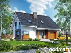 Projekt dom w jablonkach  252lo