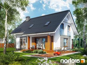 Projekt dom w jablonkach  260lo