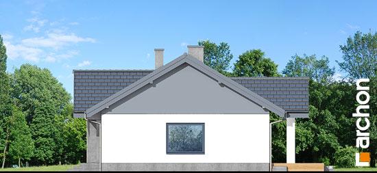 Elewacja boczna projekt dom w leszczynowcach  266