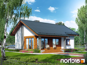 projekt Dom pod lipką lustrzane odbicie 2