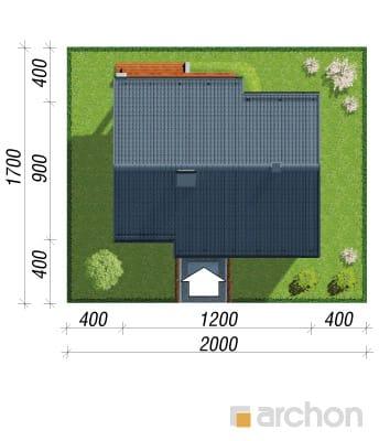 projekt Dom pod lipką sytuacja