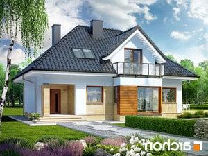 Projekt dom w awokado n  252lo