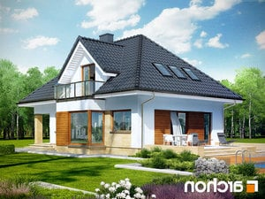 Projekt dom w awokado n  260lo