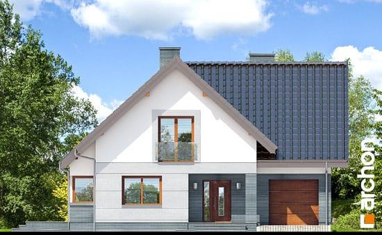 Elewacja frontowa projekt dom w milowonkach  264