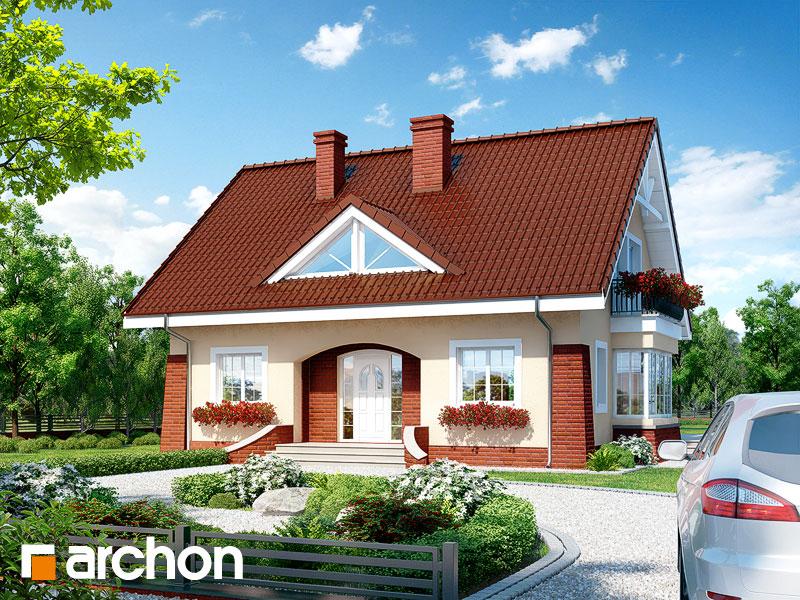 Projekt: Dom w koniczynce 2 ver.2 Wizualizacja widok 1