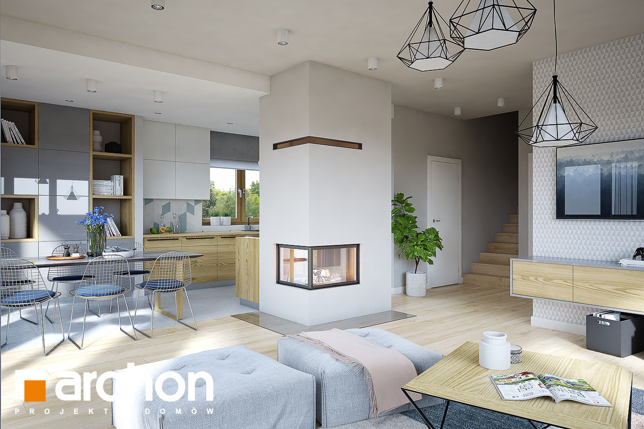 Projekt dom w rododendronach 16  26065