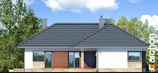 Elewacja ogrodowa projekt dom w gruszach  267
