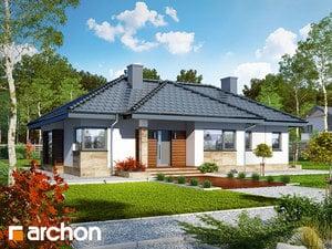 Projekt dom w gruszach  260