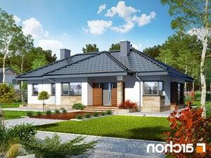 Projekt dom w gruszach  260lo