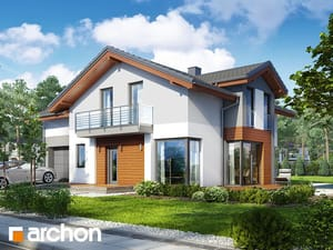projekt Dom w budlejach 2