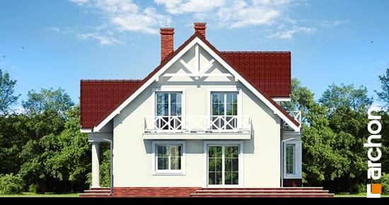 Elewacja boczna projekt dom w truskawkach 2 ver 2  265