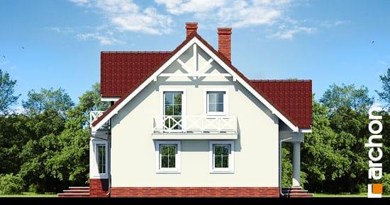 Elewacja boczna projekt dom w truskawkach 2 ver 2  266
