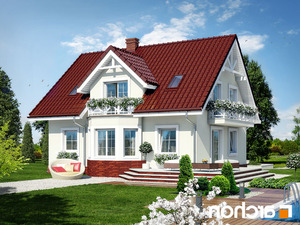 projekt Dom w truskawkach 2 lustrzane odbicie 2