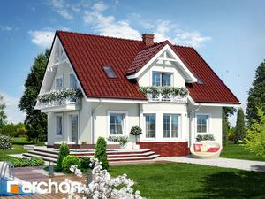 projekt Dom w truskawkach 2 widok 2