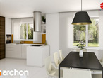 projekt Dom w asparagusach Aranżacja kuchni 1 widok 2