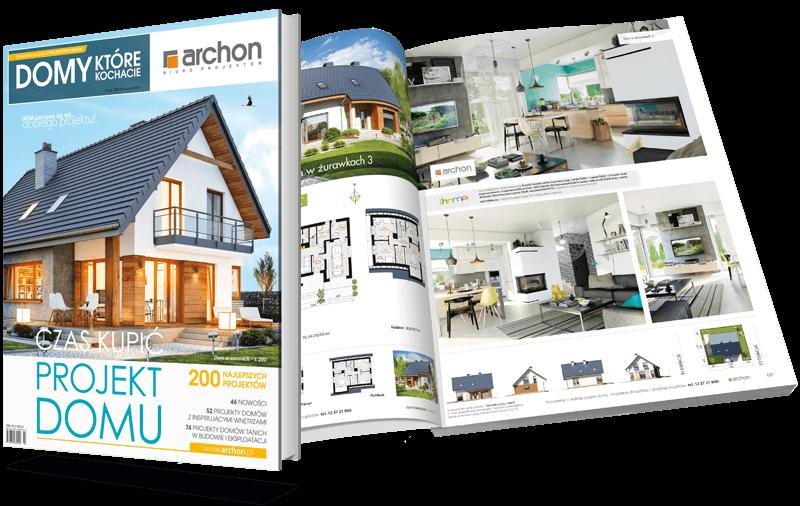 Bezpłatny katalog z projektami domów