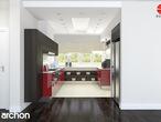 projekt Dom w akebiach Aranżacja kuchni 2 widok 2