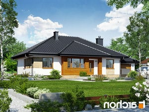 Projekt dom w akebiach ver 2  252lo