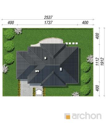 projekt Dom w akebiach sytuacja