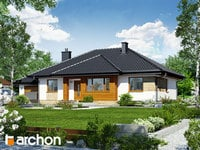 projekt Dom w akebiach widok 1