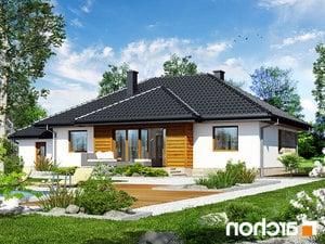 Projekt dom w akebiach ver 2  260lo