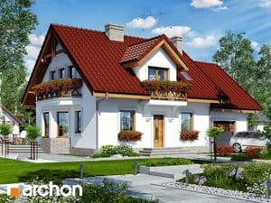 projekt Dom w rododendronach 19