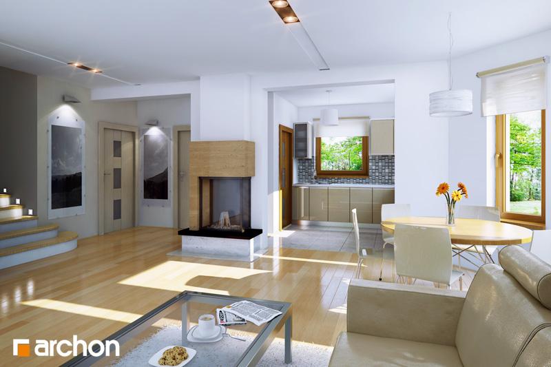 Projekt dom w rododendronach 19  22756