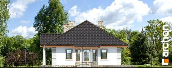 Elewacja boczna projekt dom pod jarzabem g2 ver 2  265