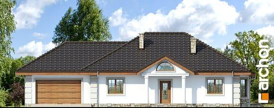 Elewacja frontowa projekt dom pod jarzabem g2 ver 2  264