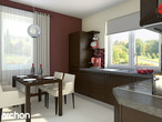 projekt Dom pod jarząbem (G2) Aranżacja kuchni 1 widok 1