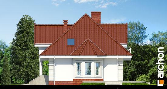 Elewacja boczna projekt dom w glicyniach ver 2  265