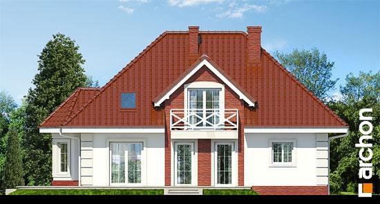Elewacja ogrodowa projekt dom w glicyniach ver 2  267