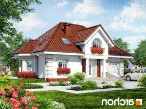 Projekt dom w glicyniach ver 2  252lo