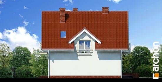Elewacja boczna projekt dom w rododendronach ver 2  265
