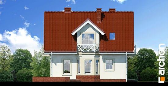 Elewacja boczna projekt dom w rododendronach ver 2  266