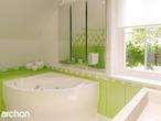 projekt Dom w rododendronach Wizualizacja łazienki (wizualizacja 3 widok 1)