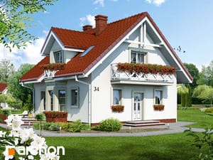 projekt Dom w rododendronach